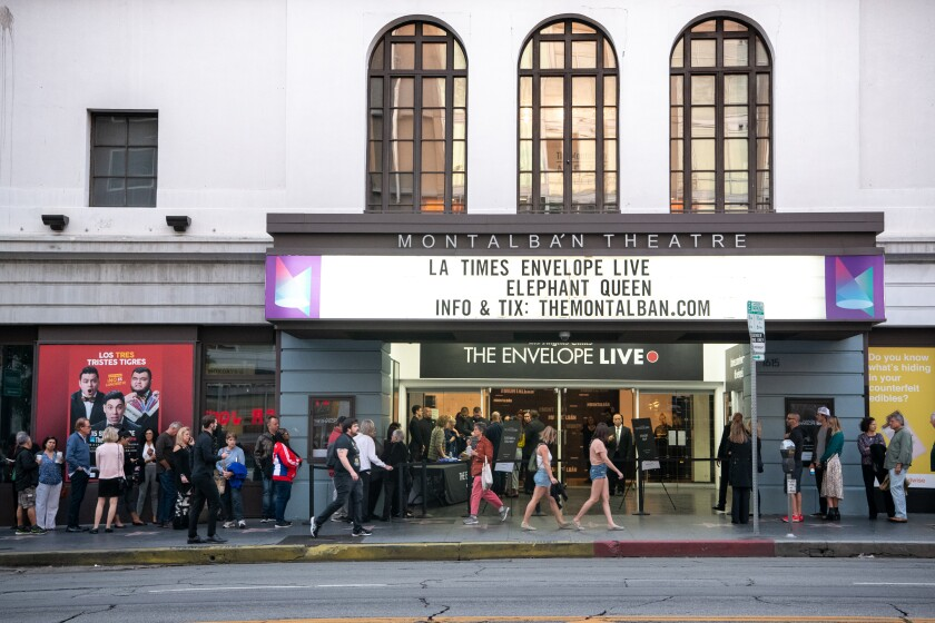 """Los Angeles Times Envelope Live screening of """"The Elephant Queen"""""""