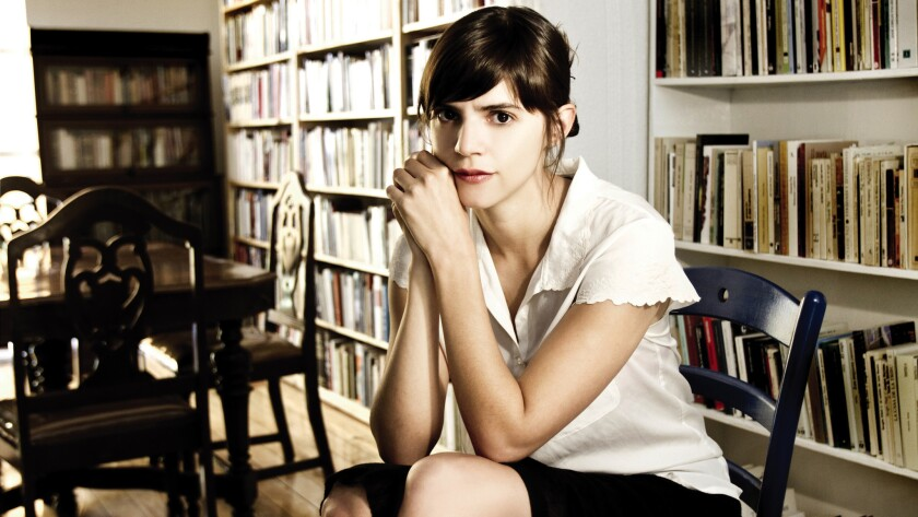 """Mexican author Valeria Luiselli's """"Faces in the Crowd"""" is on the longlist for the Best Translated Book Awards."""