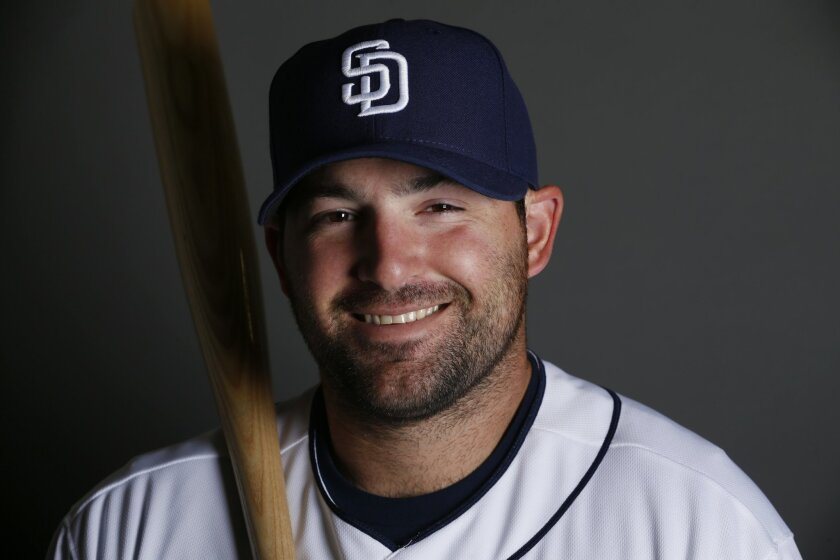 Padres catcher/first baseman Cody Decker