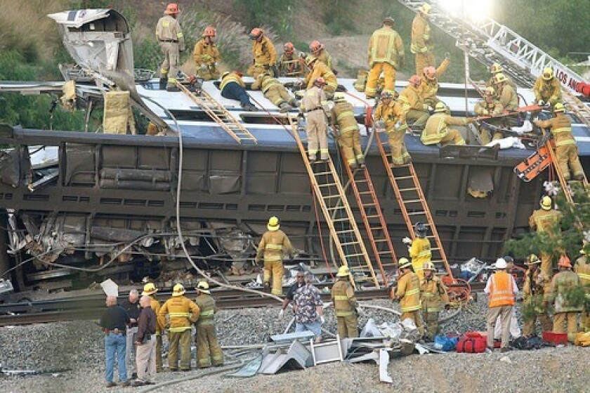 Metrolink's project was launched in the aftermath of the 2008 Chatsworth crash that killed 25 people and injured 135