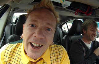 Driving with John Lydon