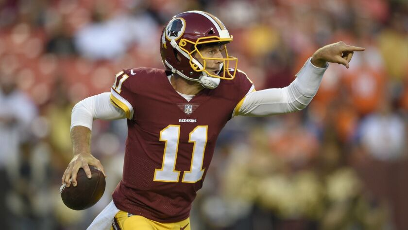 The most veteran local player in the NFL is Alex Smith, now with the Redskins, who is in his 14th season.