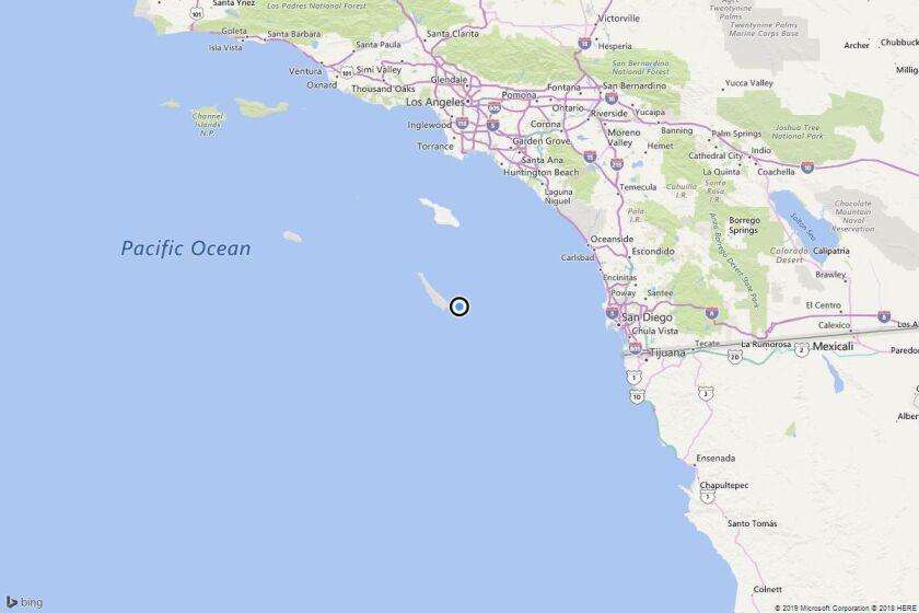Earthquake: 3.5 quake strikes near Avalon, Calif.