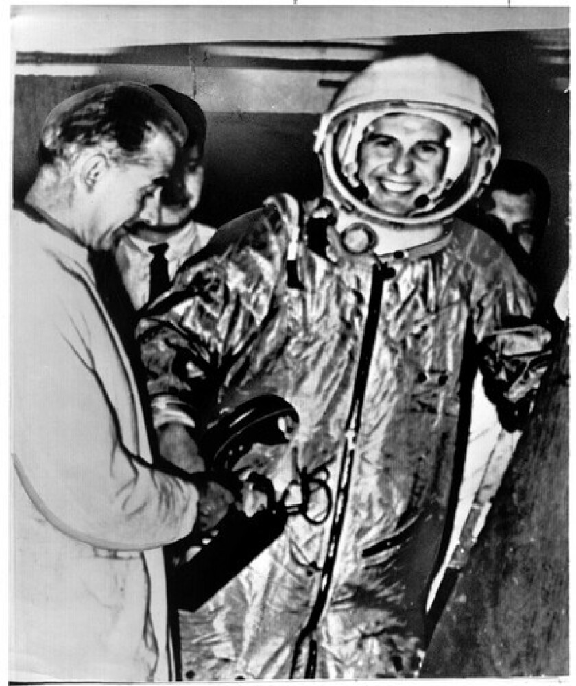 Pavel Popovich was the sixth man to go into orbit. In 1962, he was one of two pilots who manned satellites that orbited the Earth at the same time.