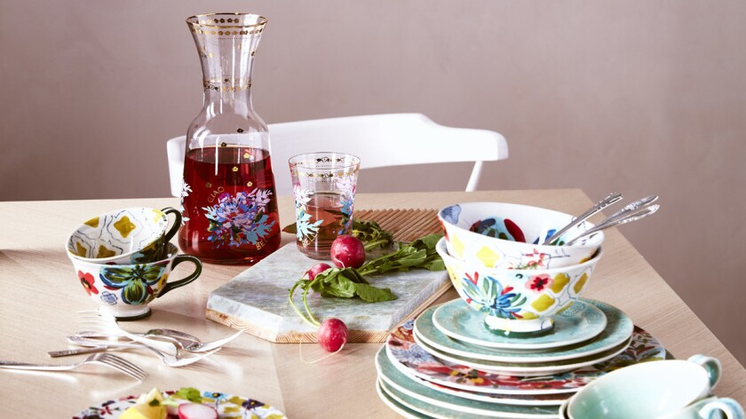 Anthropologie Home is now available online at nordstrom.com and 15 retail locations, including Nordstrom at Fashion Valley Mall in San Diego.