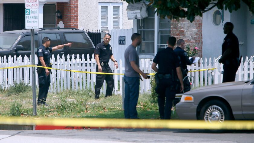 An investigation is underway in Burbank, where South Pasadena police were involved in a shooting.