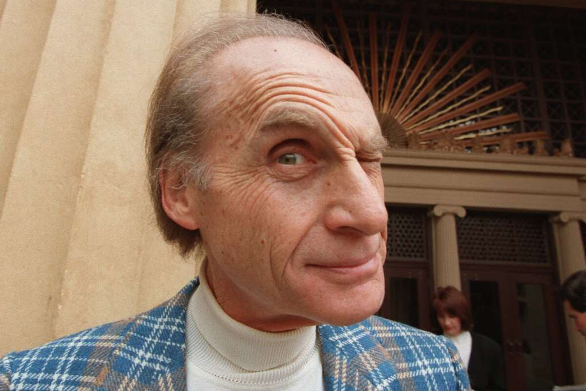"""Sid Caesar, a television pioneer who reigned as the king of live TV sketch comedy in the 1950s with his inspired brand of mimicry, pantomime and satire on the classic comedy-variety series """"Your Show of Shows"""" and """"Caesar's Hour,"""" died Wednesday, Feb. 12, 2014. He was 91. He made us laugh and laugh. Here we round up just a few of the wide range of faces he's made throughout the years. At a news conference announcing the formation of the Glendale Festival Orchestra in 1995, Sid Caesar made a face before his premiere performance with the orchestra, """"Sid Caesar: Launching the Next 50 Years!"""""""