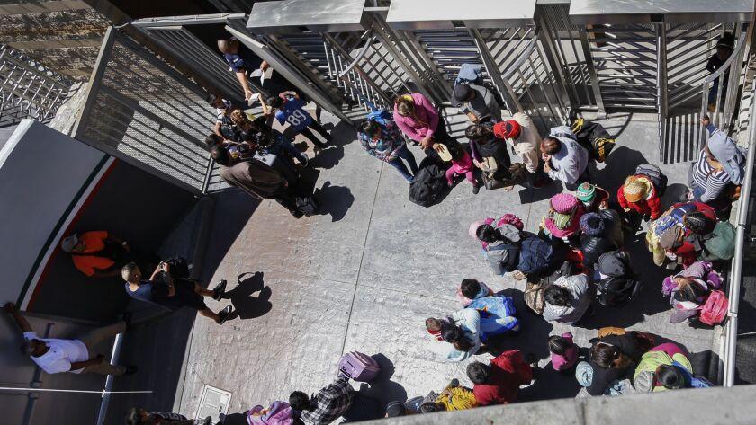 Asylum seekers in Tijuana find renewed hope following order ending family separation.