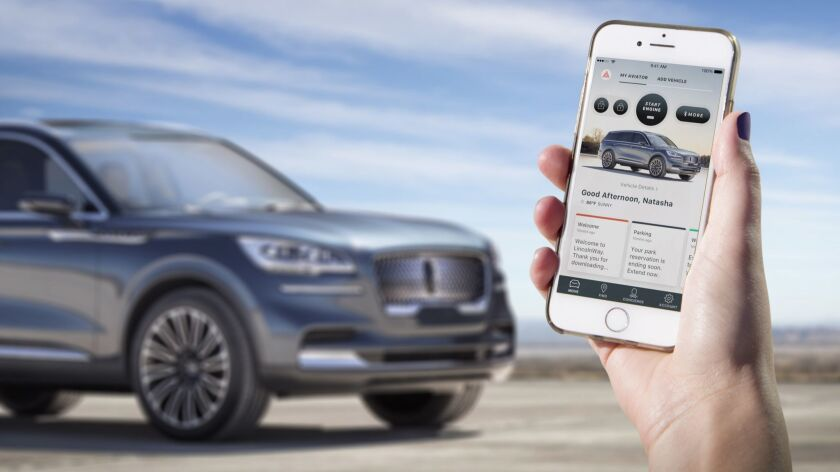 Owners will be able to use their smartphone as a key when Lincoln debuts the Phone as a Key technolo