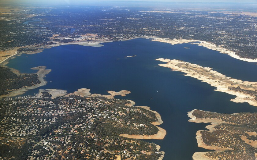 Folsom Lake in August
