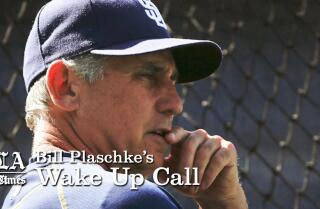 Bill Plaschke's Wakeup Call: Three possible Dodger managers