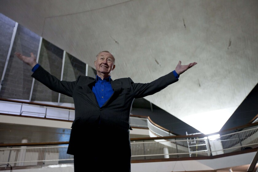 British designer and museum founder Terence Conran