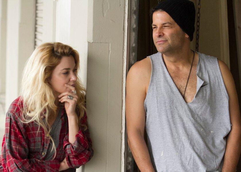 "Summer Spiro and Jeffrey Jones in San Diego Repertory Theatre's ""Detroit."""