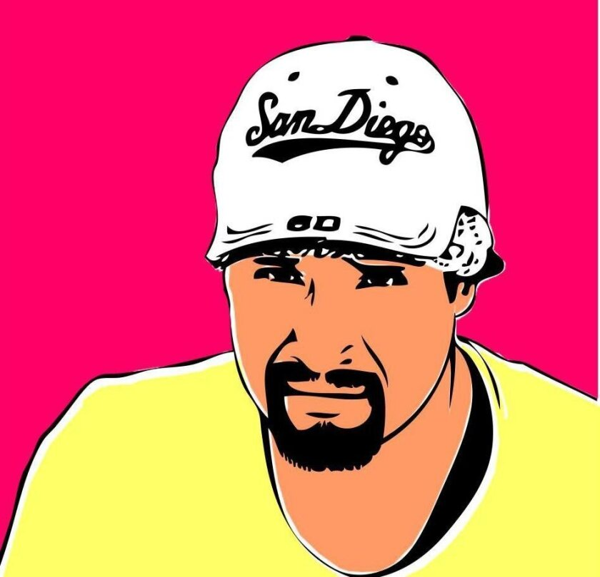 This image of Anastasio Hernandez Rojas is taking off as Facebook and Twitter users make it their profile picture in protest of the death of the undocumented immigrant while in Border Patrol custody and in demand of a federal investigation into his death and the deaths of others along the border. It was created by Ricardo Favela of the Equality Alliance in San Diego.