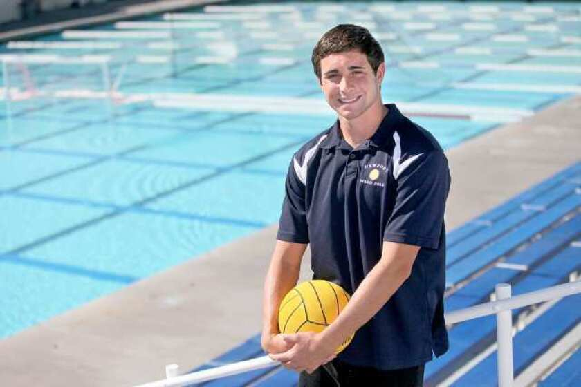 Boys' Water Polo: Newport Harbor's Fink headed to Princeton