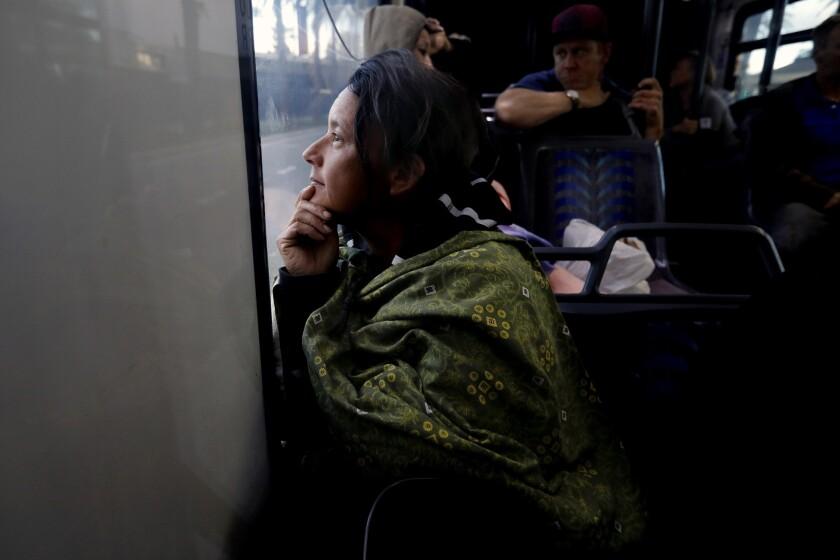 Photo Gallery Orange County S Riverside Homeless Begin