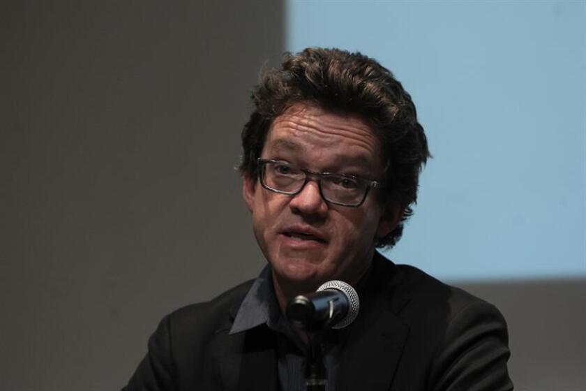 En la imagen, Alejandro Valencia, experto internacional en derechos humanos y miembro de la Comisión de la Verdad de Colombia. EFE/Archivo