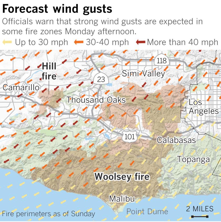 Sources: National Weather Service, Cal Fire, Nextzen, OpenStreetMap