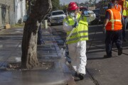 San Diego starts cleansing sidewalks, streets to combat hepatitis A