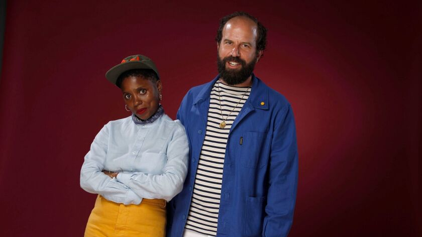 """Janicza Bravo directed Brett Gelman in the indie """"Lemon."""" A couple in real-life, they wrote the film"""