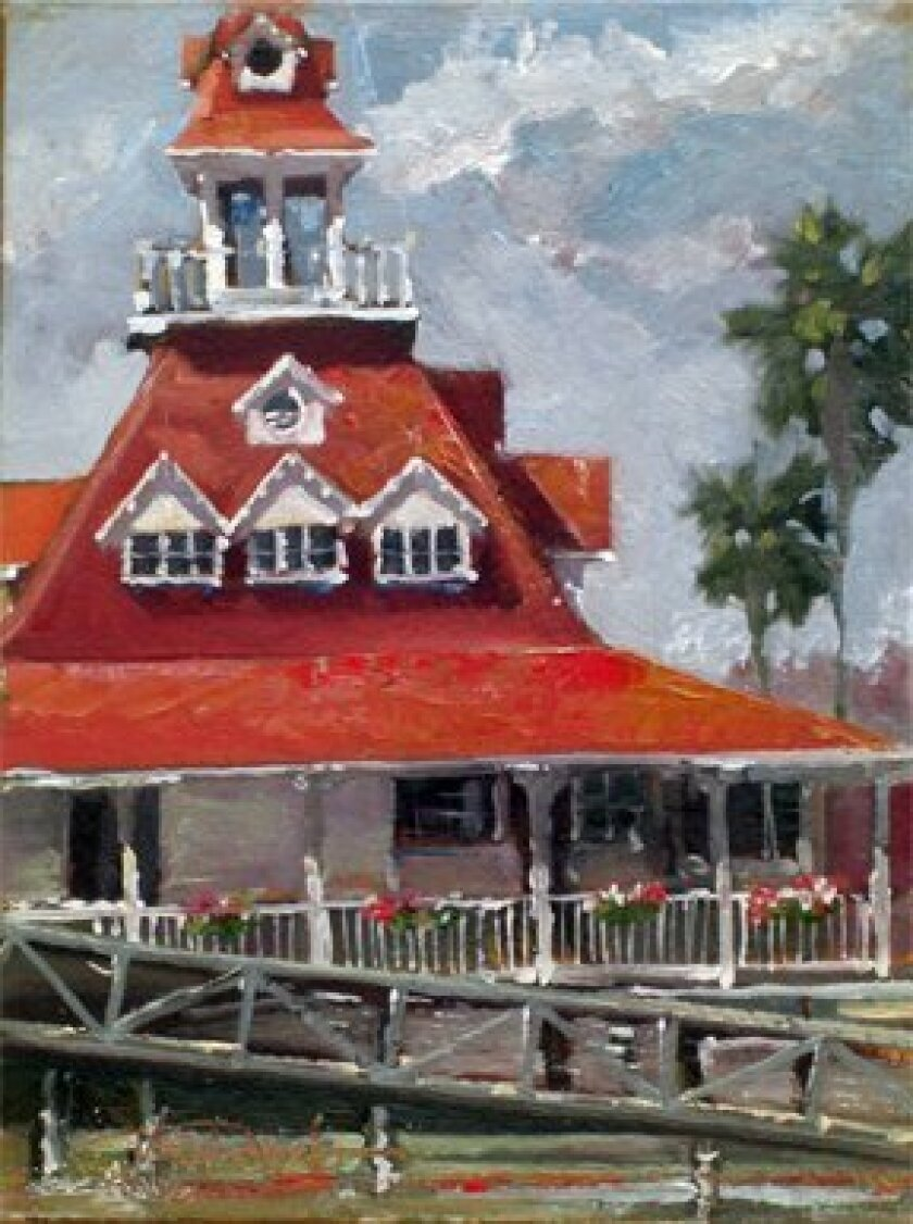 Artist Norm Daniels' work will be for show and sale at the Art & Craft Show Old Town, Oct. 3-4.