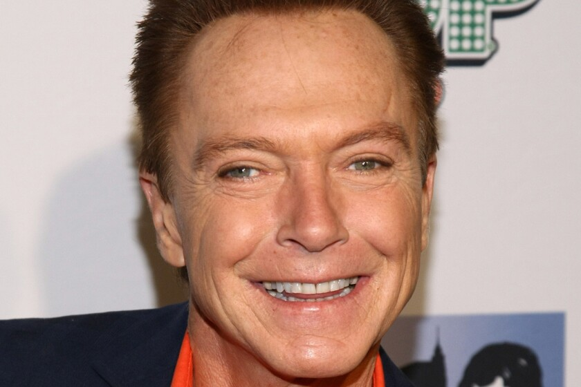 "David Cassidy attends ""The Celebrity Apprentice"" Season 4 finale at Trump SoHo in New York City."