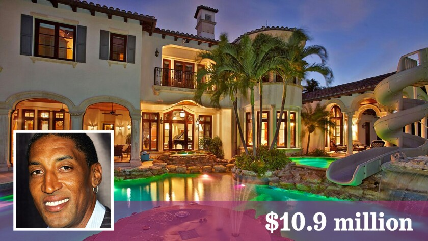Chicago Bulls legend Scottie Pippen has dropped the price of his mansion on the water in Fort Lauderdale to $10.9 million. The price is $12.5 million if he throws in the yacht.