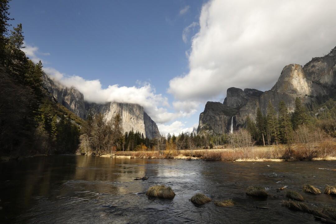 Yosemite National Park is closed due to the coronavirus outbreak