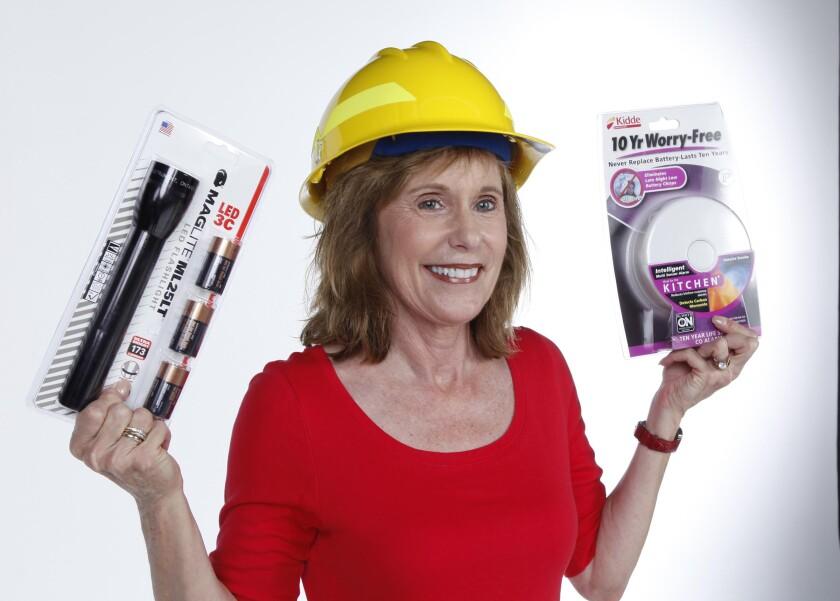 Joan Jones, executive director of the San Diego Regional Fire Foundation.