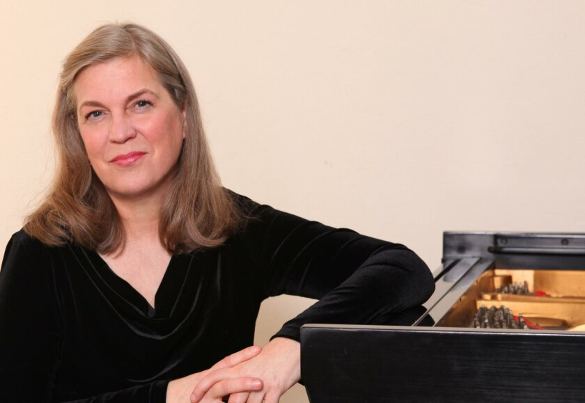 Pianist Roberta Swedien will perform at the Encinitas Library March 11.