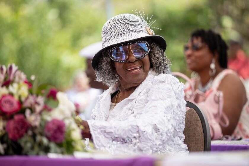 Longtime activist Kathleen Harmon celebrated her 90th birthday.