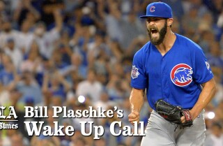 Bill Plaschke's Wake Up Call: Jake Arrieta's no-hitter against the Dodgers