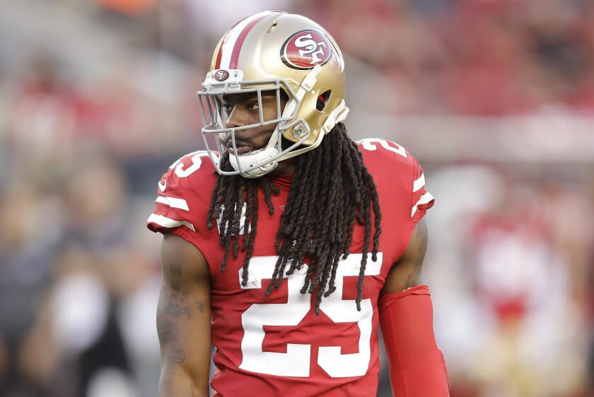 San Francisco 49ers cornerback Richard Sherman said he plans to apologize to Baker Mayfield after suggesting the Cleveland Browns quarterback snubbed him during the pregame coin toss Monday night.
