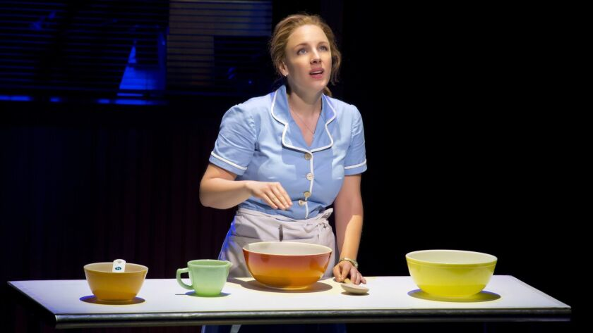 """Jessie Mueller helped to make """"Waitress"""" a huge hit on Broadway. Soon a national tour company will come to the Hollywood Pantages."""
