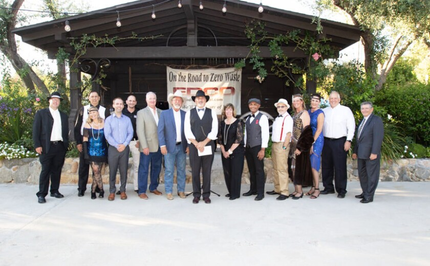 The Poway Chamber of Commerce's 2021-22 Board of Directors was installed at the Business Star Awards ceremony.
