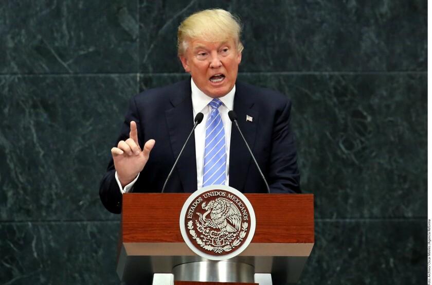 El Presidente electo de EU, Donald Trump, amagó con cobrar un gran impuesto a General Motors si no muda a su país la construcción del Chevy Cruze que se ensambla en México.