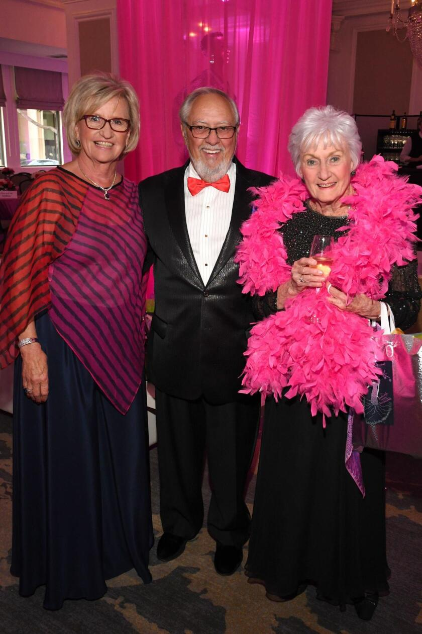 Ruth and Ron Leonardi, Sylvia Smith