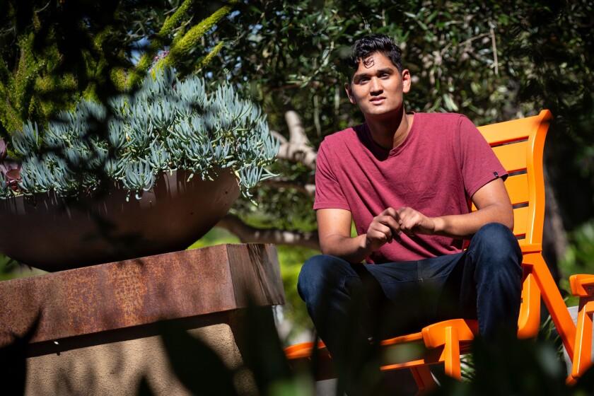 Janak Bhakta, 17, of Tustin is taking a gap year.