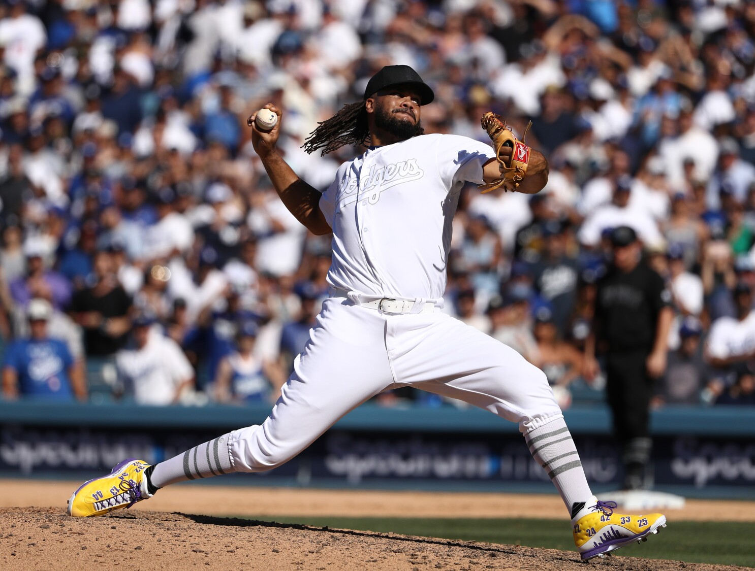 Column: Dodgers need Kenley Jansen to perform like the pitcher he was in previous seasons