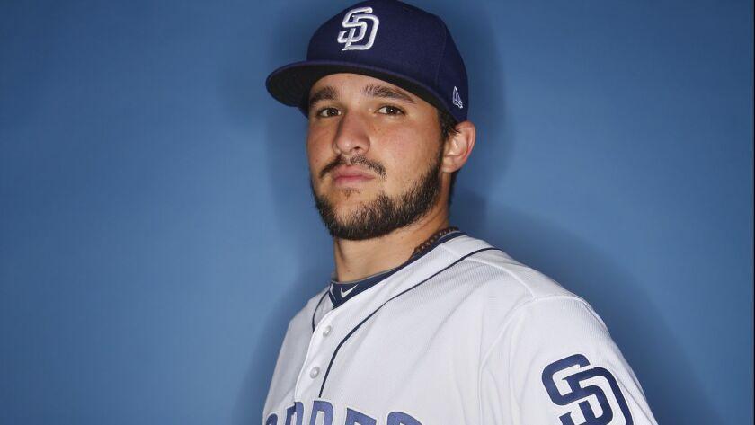 San Diego Padres catcher Luis Torrens.
