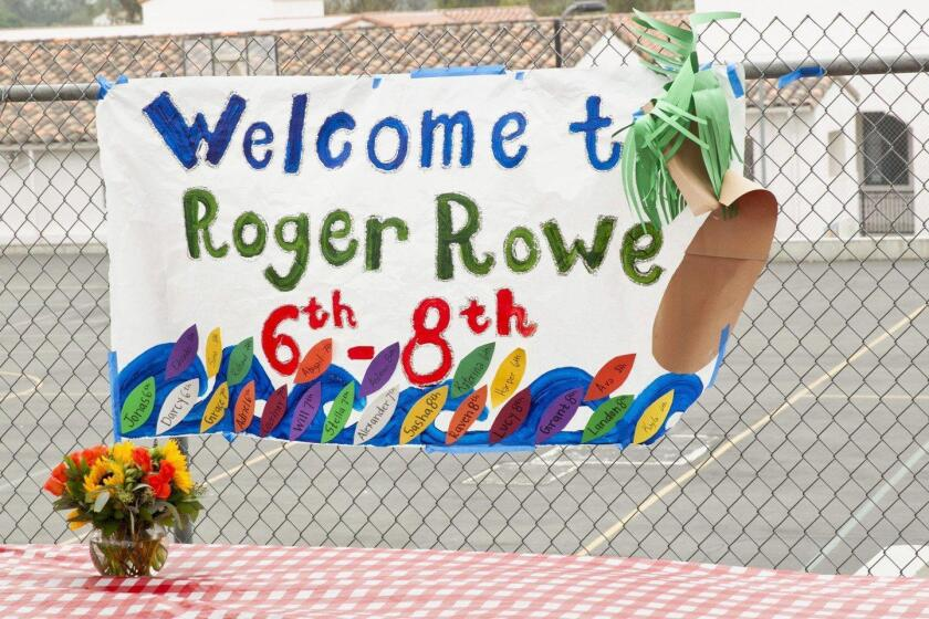 Roger Rowe School newcomer's orientation & BBQ