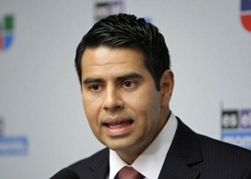 Cesar Conde joined NBCUniversal in 2013.