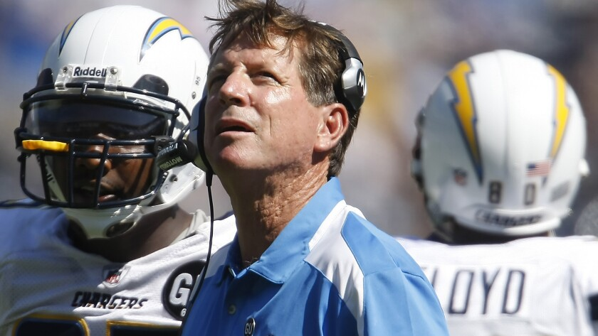 Norv Turner had a record of 114-122-1 in 15 seasons as a coach in the NFL.