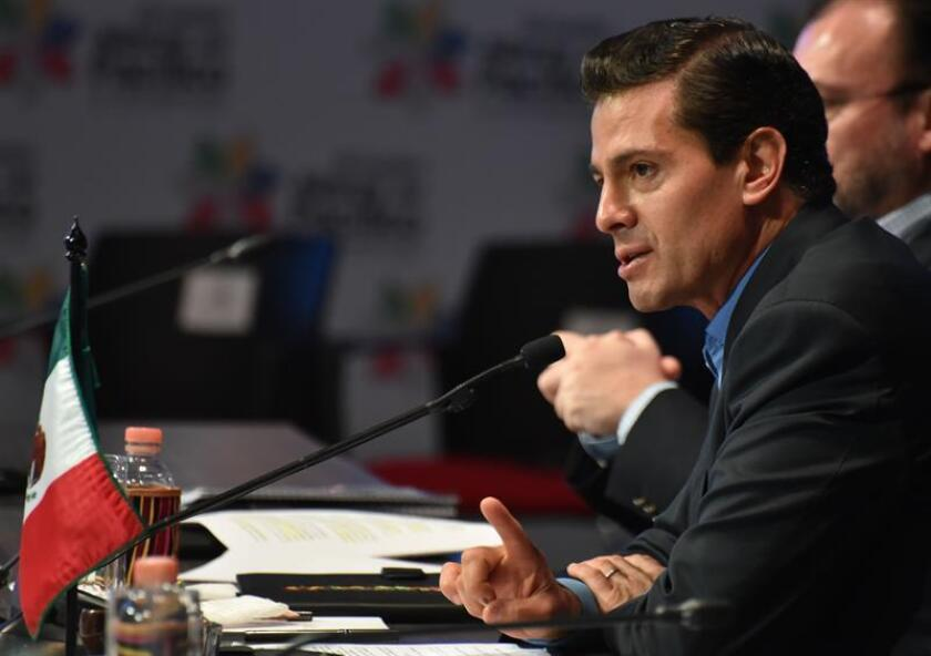 El presidente de México, Enrique Peña Nieto. EFE/Archivo