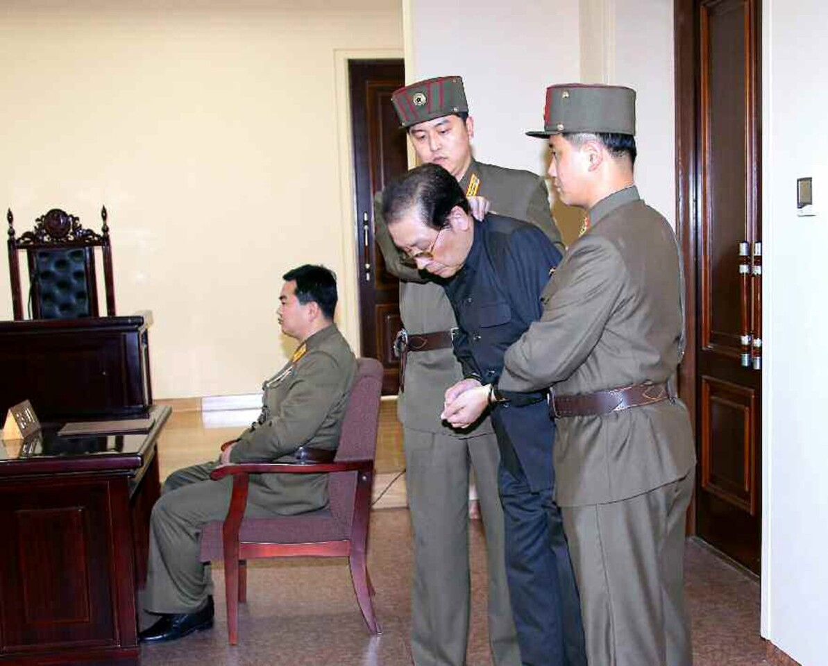 """Jang Song Taek, the uncle of the secretive 30-ish North Korean leader Kim Jong Un, was dramatically removed last week from a special party session by armed guards. Calling him """"despicable human scum,"""" the state then summarily executed the man who had mentored his nephew during the transition after the death of his dictator father Kim Jong Il. In his two years in power so far, observes The Times, Kim Jong Un has invested """"the country's scarce resources in water slides, roller coasters, ski slopes and a 'dolphinarium.' """" We might dismiss it as eccentric, except that North Korea has that nuclear arsenal. MORE YEAR IN REVIEW: 10 groundbreaking women we lost in 2013 10 tips for a better life from The Times' Op-Ed pages in 2013 Kindness in the world of politics? 7 uplifting examples from 2013"""