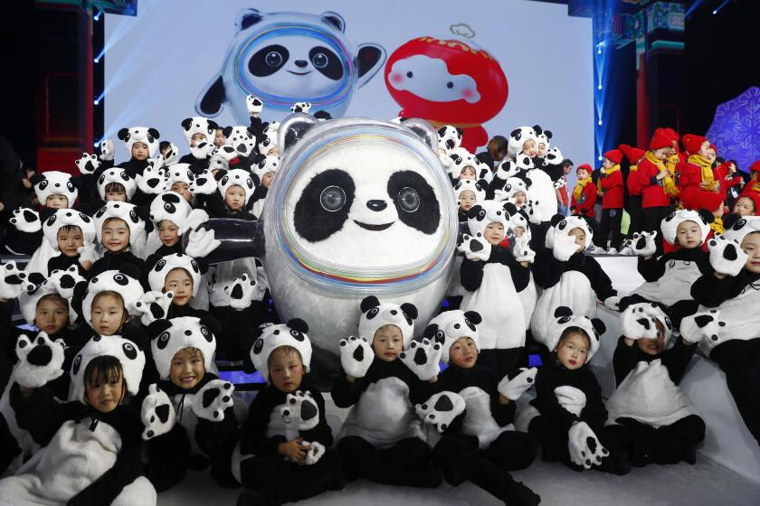 Beijing 2022 Winter Olympic And Paralympic Games Official Mascots Launch