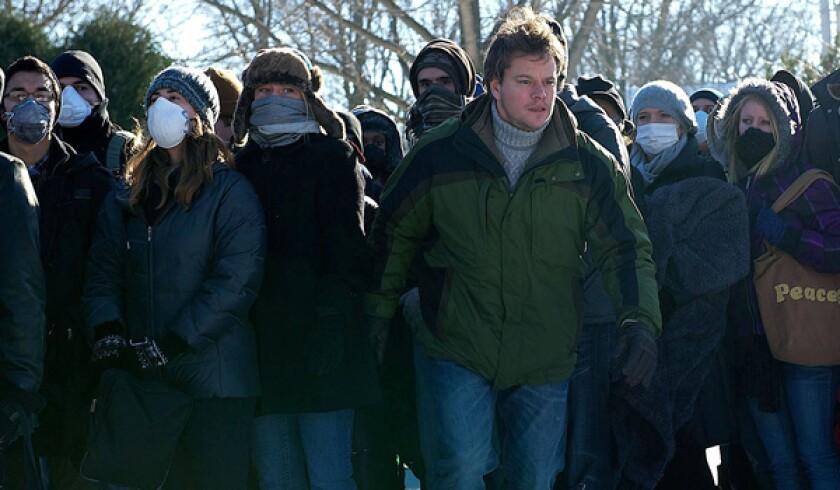 Matt Damon in 'Contagion.'