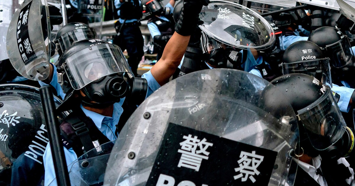 Why Hong Kong protesters aren't cheering this police officer's arrest