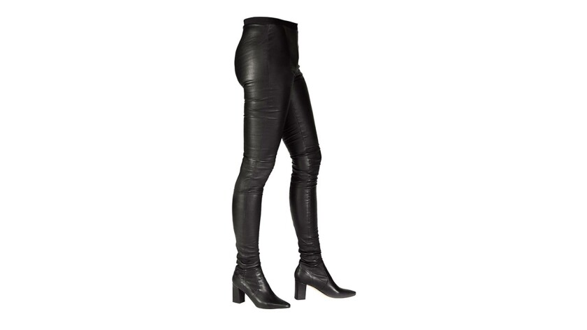 Tamara Mellon's legging boots, $1,495, at TamaraMellon.com.