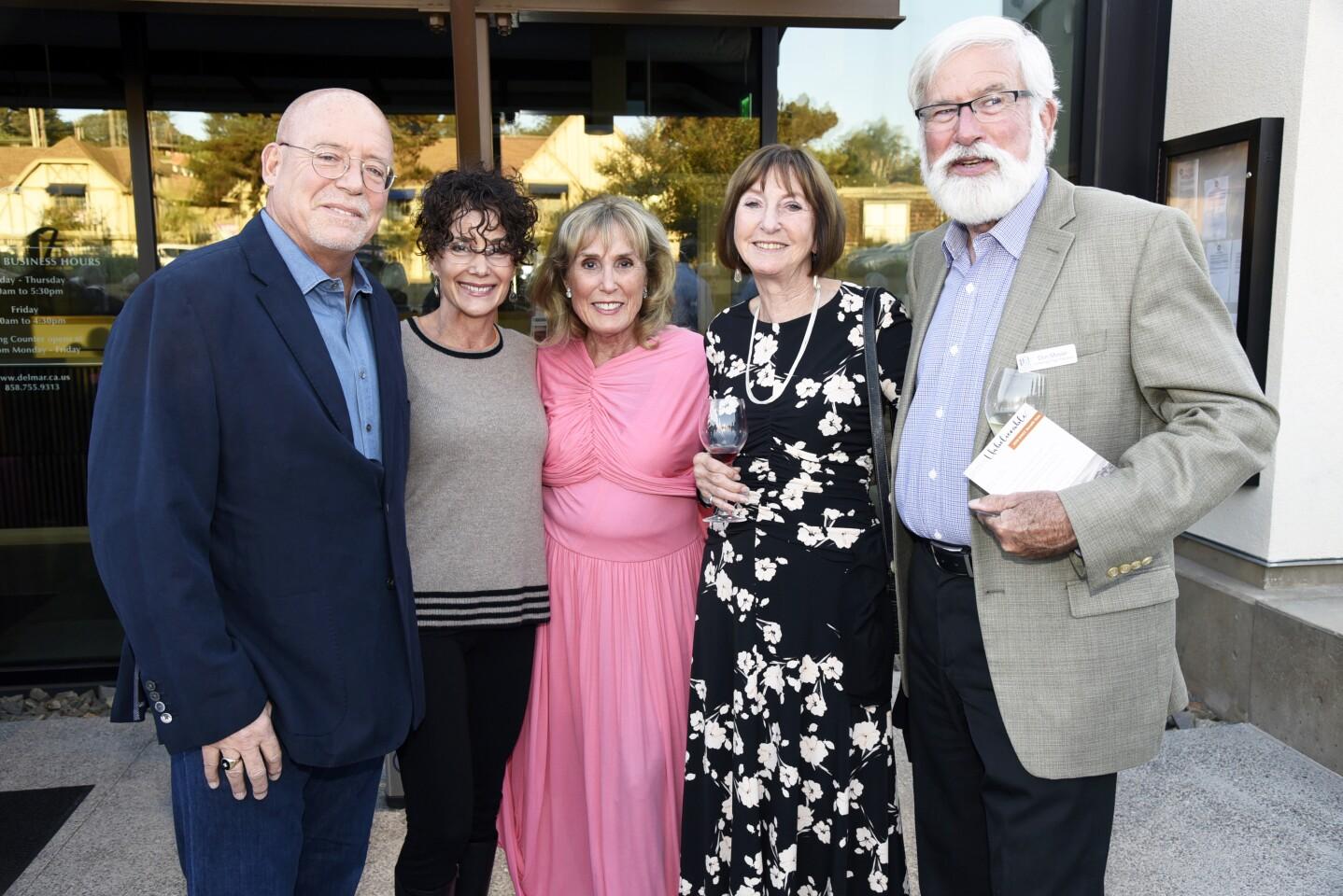 Jim and Lynne McMenamin, Rosanne Holliday, Ann Feeney, DMCC Past President Don Moser
